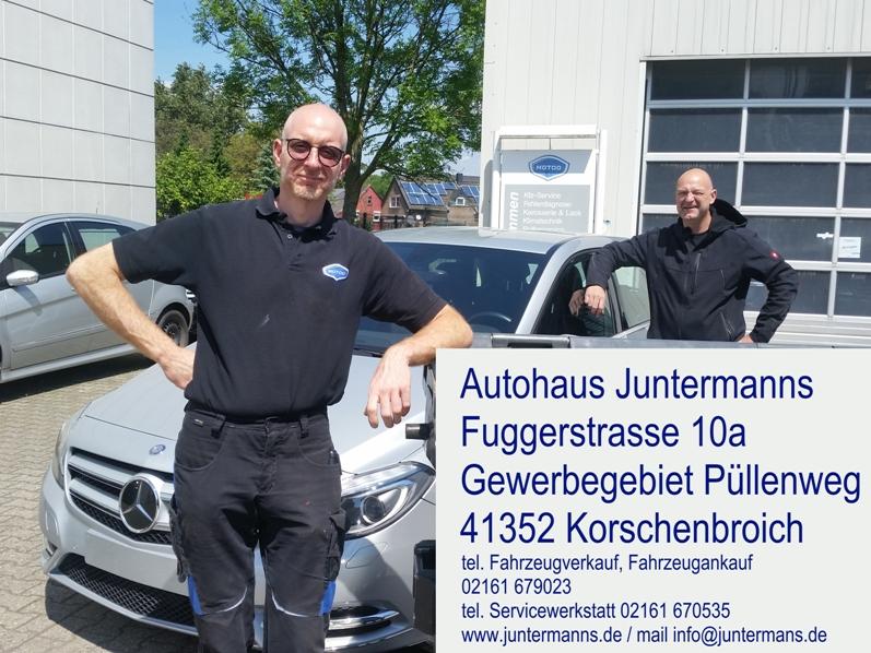 Mercedes Benz Gebrauchtwagen von Juntermanns